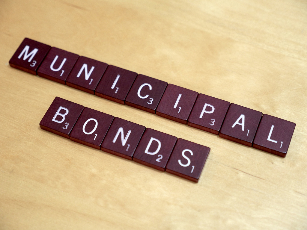 Investing in Municipal Bonds is a money growing strategy that is often overlooked ... photo by CC user Simon Cunningham on Flickr
