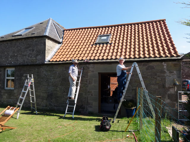 fixing a roof