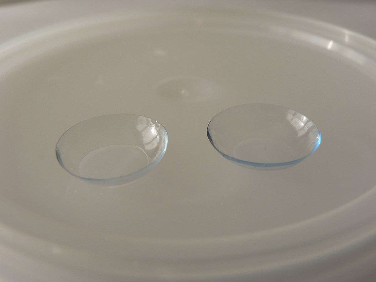 There are many Contact Lens Benefits that you likely don't know about ... photo by CC user Nieuw on wikimedia commons