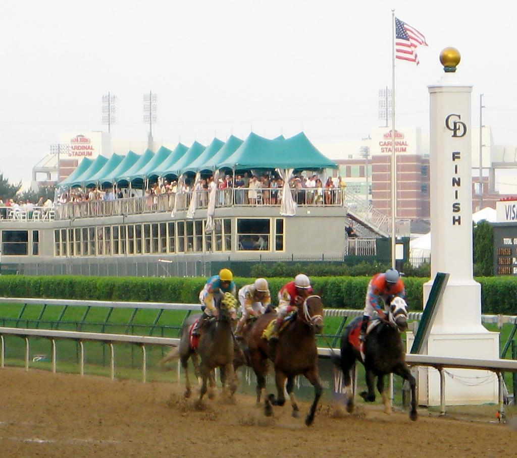 The Kentucky Derby is one of the biggest racing events in 2016 ... photo by CC user juniorvelo on Flickr