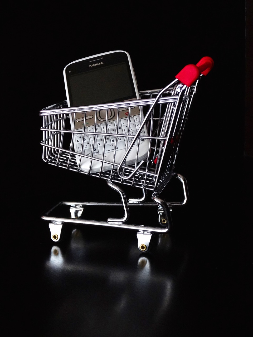 The future of online shopping is intertwined with the emergence of mobile computing